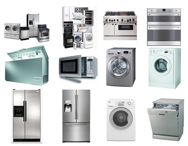 Have a look at some of the home domestic appliances we repair